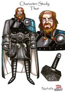 Character study Thor norse ancestor
