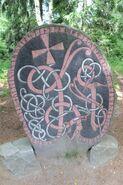 Ølstastenen runestein på Skansen ved Stockholm