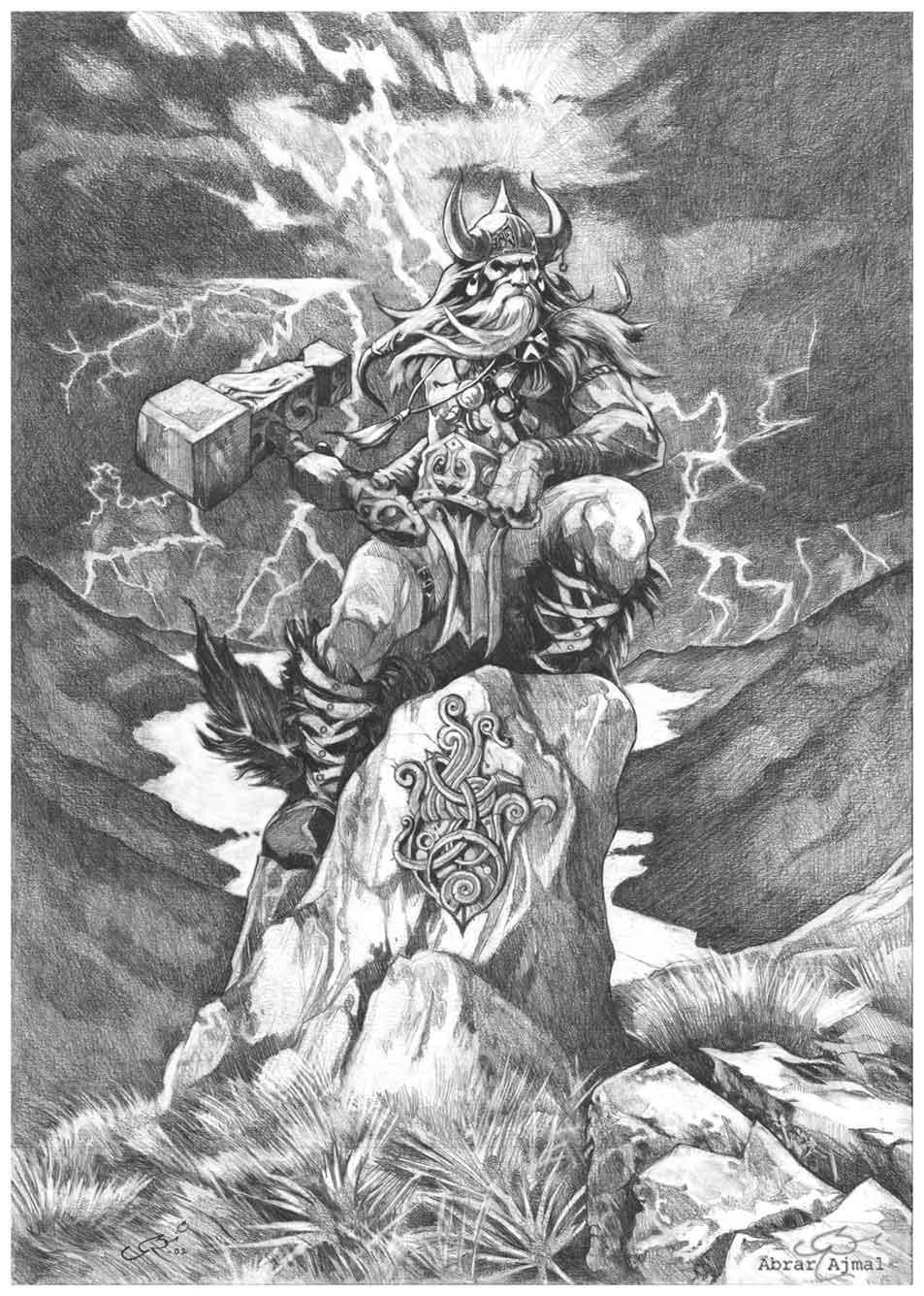 Thunder deity