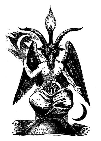 Depiction by Eliphas Lévi