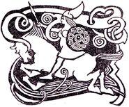 Valkyrie horseback