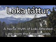 Loka Táttur- A Faroese Story of the Norse Gods