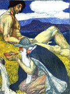 Odin am Brunnen der Weisheit