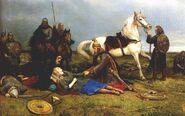 Peter Nicolai Arbo-Hervors død