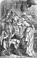 Iduna giving the magic apples
