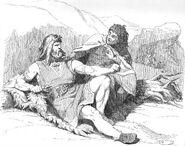 Hammar-hämtningen I. Thors uppvaknande - Mårten Eskil Winge
