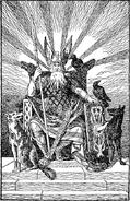 Odin, the Allfather by H. L. M