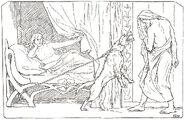 Billingr's girl, bitch, and Odin by Frølich