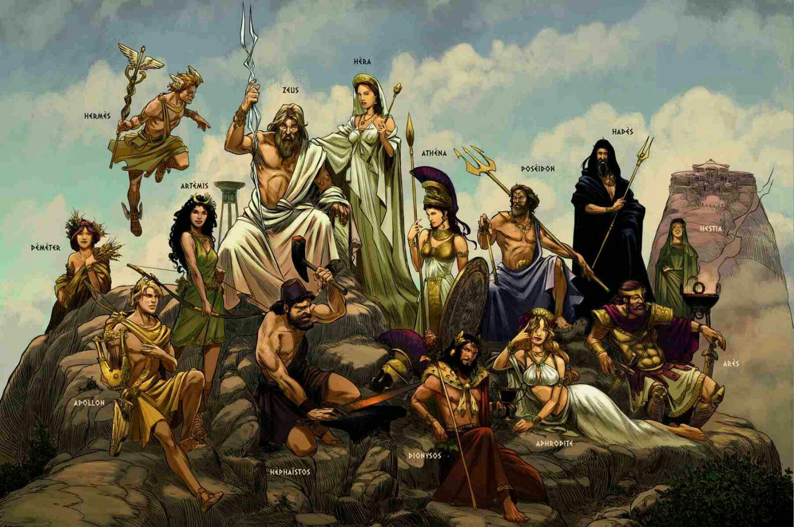 Greek deities