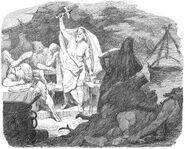Hammar-hämtningen III. Thor återfår hammaren