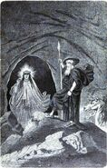 Odin and the Völva by Doepler