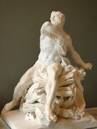 Herakles pyre Coustou Louvre MR1809