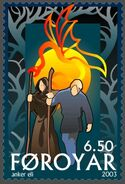 Faroe stamp 437 The Return of Baldur and Hodur