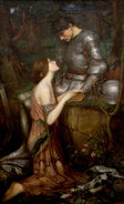 John Waterhouse - Lamia - Google Art Project
