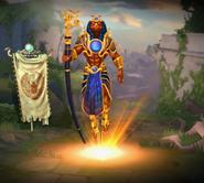 SkinShot Ra Golden
