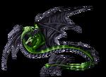 Viper Amphiptere by MythsAndDreams
