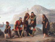 Regnar Lodbrog og Kraka, 1849