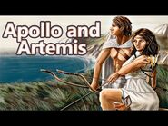 Apollo and Artemis- The Birth of the Twins Gods - Greek Mythology Stories - See U in History