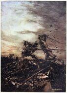 How Mordred was Slain by Arthur