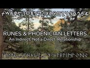Runes and Phoenician Letters