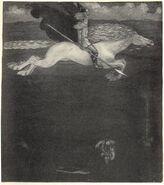 Odin and Sleipnir - John Bauer