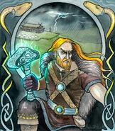 Thor by unripehamadryad