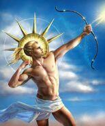 Apollo, god of the sun