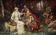 Iðunn and the Apples by James Doyle Penrose, 1890