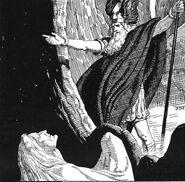 Óðinn and the Vǫlva