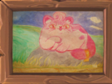 Painting: Kitty