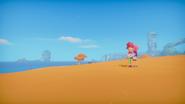 Cutscene Taking a walk in the desert