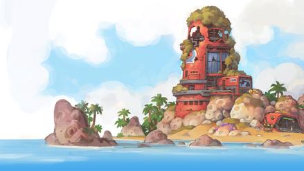 Starlight Island loading