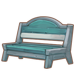 Stone Striped Wooden Bench.png