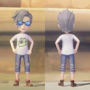 Kickstarter Shirt on male