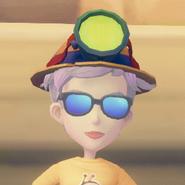 Miner's Hat on model