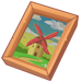 Painting - The Lonely Windmill.png
