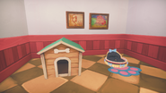 Paintings and pet beds