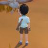 My Time at Sandrock male player character - August 2020 teaser video screenshot