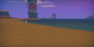 Cutscene Walk on the Beach with Ginger