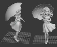 Ginger figurine model