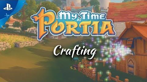 My Time At Portia - Crafting Trailer PS4