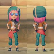 Adventurer's Set on female