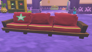 Dyed Hardwood Couch