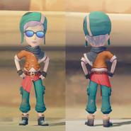 Adventurer's Set on male