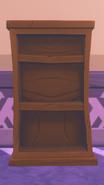 Bookshelf placed