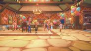 Cutscene Lucy's birthday party