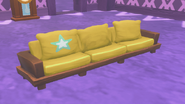 Hardwood Couch in Players Home