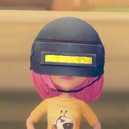 Welding Helmet on model