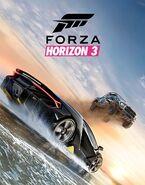Forza horizon 3 cover art