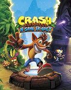 Crash Bandicoot N. Sane Trilogy cover art
